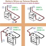 Battery Wire Versions Taiwan 6V Mopeds