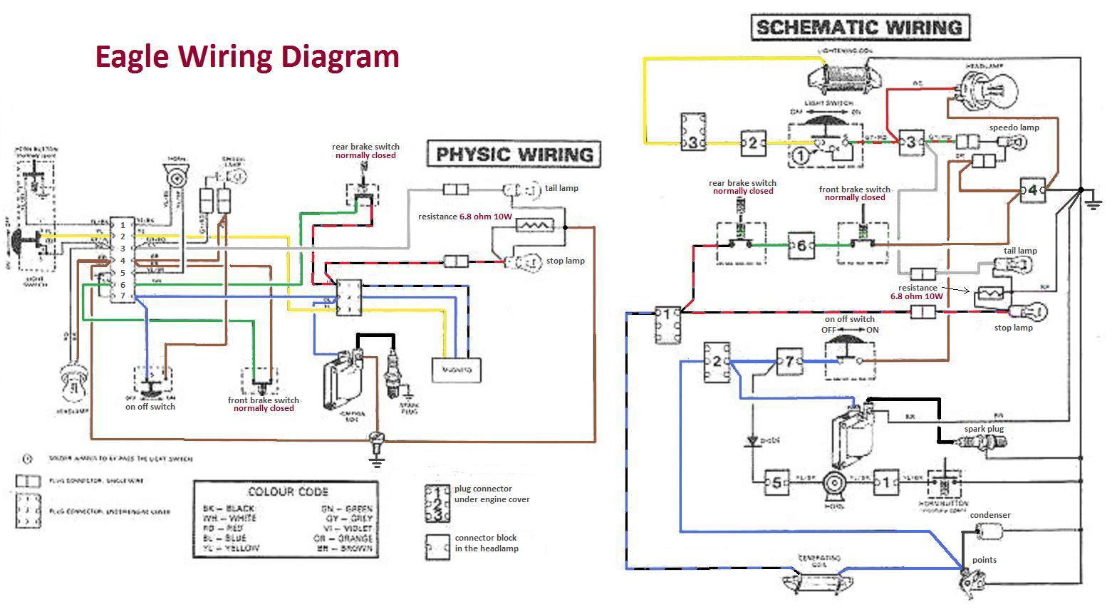 Wiring Diagrams A To Z For Thee   U00ab Myrons Mopeds
