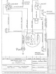 Intramotor Gloria Scout (USA) Schema Elettrico