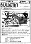 Jawa Service Bulletin Aug 1981