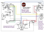 Motron Wiring Diagram Minarelli V1 engine CEV 3-wire magneto external ignition ground