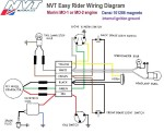 NVT Easy Rider Wiring Morini MO1 or MO2 eng Dansi 101286 magneto internal ignition ground