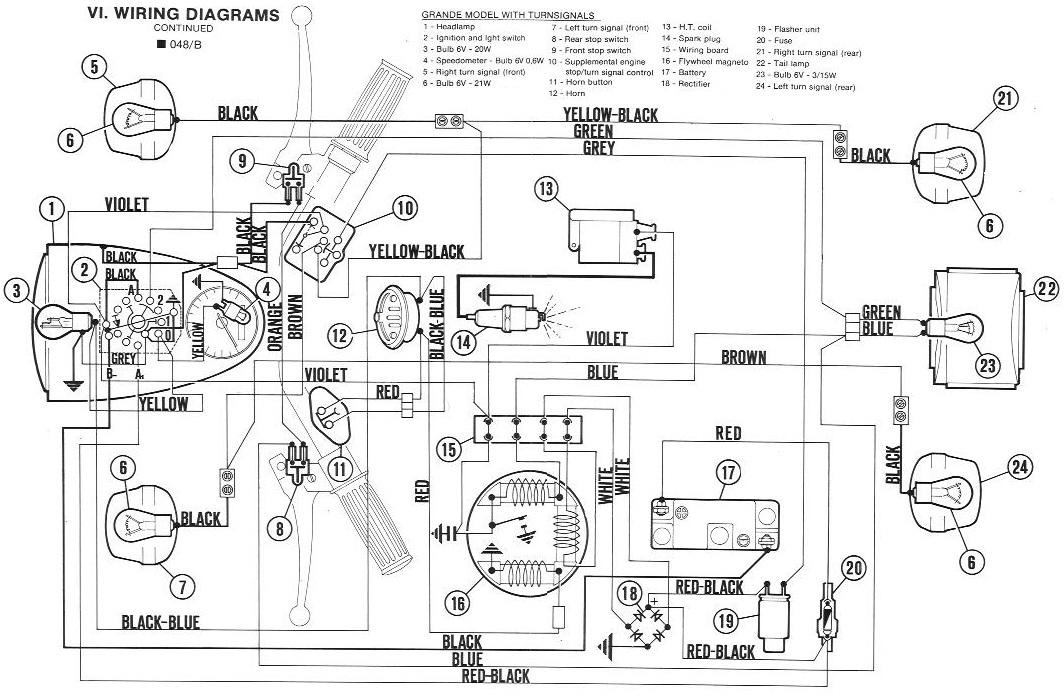 Vespa Electrical  U00ab Myrons Mopeds