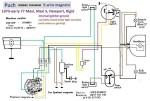 Puch 1976-77 (5-wire) Maxi-N, Maxi-S, Nostalgic Maxi 8421029-8709891 Rigid 6547173-6830115 5-wire Bosch magneto 1-speed: 0212 124 042