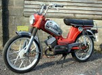 1977 Zundapp ZD40 pedal start moped 3-speed grip shift aluminum frame