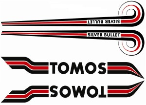 Tomos Silver Bullet (early) set