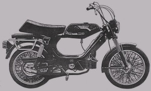 1995 Jawa Sport greyscale