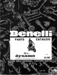 1969 Benelli Parts Catalog Dynamo Compact 50cc Dynamo Trail 50cc Dynamo Woodsbike 50cc