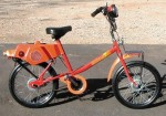 980 Roadmaster orange Model 115 orange w/orange fenders 25 mph, 1.5 hp