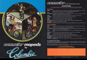 1979 Colombia Commuter Brochure