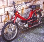 1980 Colombia Imperial tube frame, Sachs engine