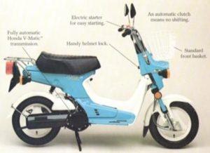 1981 Honda NX50