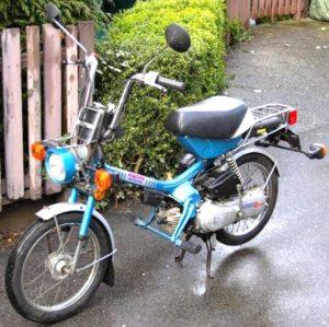 982 Honda NC50 2-speed