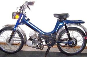 1995 KKM Mopet tube frame, Solo engine