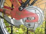 AMF 110 rear hub