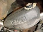 Dialex EZ Rider plastic gas tank with logo