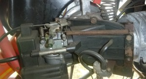 1980 AMF 110, T.K. carb