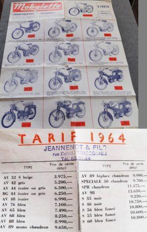 1964 Motobecane brochure
