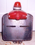 1966 Solex 3800 DOT tail light made by Maly