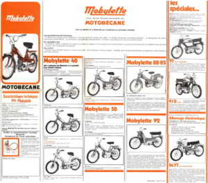 1972 Motobecane brochure