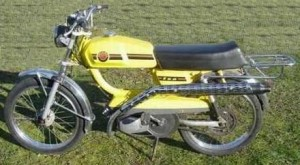The Lazer Sport 50 is a copy of this earlier 1975 Peugeot Sport