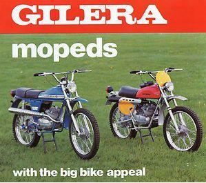 1976 Gilera Mopeds flyer