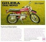1976 Gilera Trial Moped
