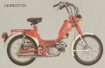 1978 Negrini Leprotto Morini MO1 engine Grimeca wire wheels P.V. controls with black plastic levers