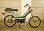 1979 Peugeot 103 SP aqua/black with long seat