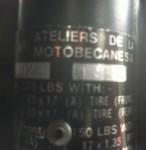 1980 Motobecane Sebring ID plate