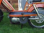 1980 Peugeot 103 LVS orange with black trim
