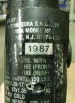 1987 Motomarina Sebring made in Italy by Motometeora SNC for Marina Mobili Inc