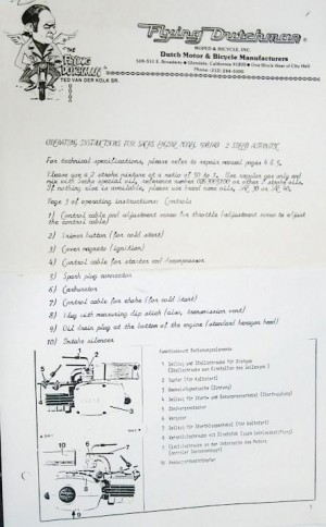 Sachs 508 Instructions