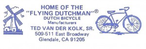 Flying Dutchman Letterhead