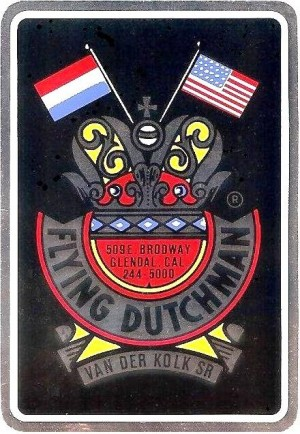 Flying Dutchman frame sticker 200dpi