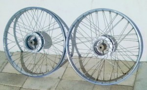 Indian Parts Group 13b: Spoke Wheels