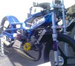 MBK 49cc Speed Record Bike right