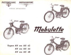 Mobylette AV AU 42 44 48