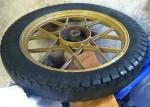 Safari Commando rear wheel