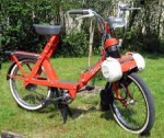 "1974 Pli Solex that folds. It has 16"" tires not 19""."
