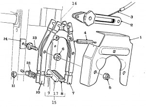 Solex Parts Figure 10 Front Brake Assembly