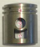 16mm upper, 12 pin, Peugeot