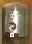18mm upper, 12 pin Daelim (Trac)