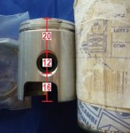 20mm upper, 12 pin, Vespa L-ring