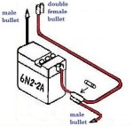 Battery 6N2-2A vintage