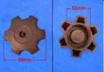 57. screw-on 50mm very coarse thread for modern ATV