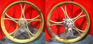 1987 Bernardi Mozzi wheels 1.35x17