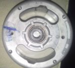 Bosch 90mm flywheel for Sears Allstate front view