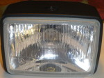CEV rectangular head light complete