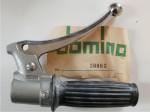 Domino 70s chrome right throttle and brake control DA0
